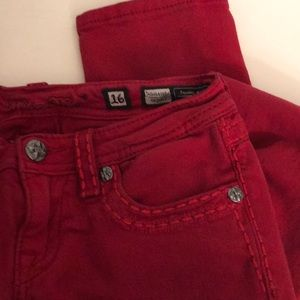 ♥️ Miss Me skinny jeans